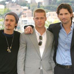 57. Filmfestival Cannes 2004 - Festival de Cannes / Orlando Bloom / Brad Pitt / Eric Bana Poster