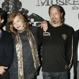 """Bloom, Orlando / Jovovich, Milla / Mikkelsen, Mads / Waltz, Christoph / Photocall zu """"Die drei Musketiere"""" Poster"""