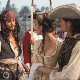 Fluch der Karibik / Johnny Depp / Keira Knightley / Orlando Bloom Poster