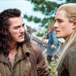 Hobbit: Die Schlacht der fünf Heere, Der / Hobbit: Eine unerwartete Reise, Der / Der Hobbit: Hin und zurück / Orlando Bloom Poster