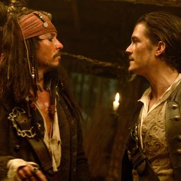 Pirates of the Caribbean - Fluch der Karibik 2 / Johnny Depp / Orlando Bloom Poster