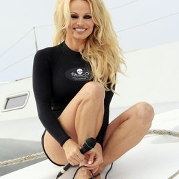 Pamela Anderson / Sea Shepard's Operation Zero Tolerance Antarctic whale defense campaign press conference launch at Fisherman's Village Poster