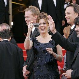 Da Vinci Code Team / 59. Filmfestival Cannes 2006 / Paul Bettany / Rita Wilson / Tom Hanks / Alfred Molina Poster