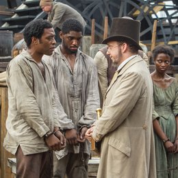 12 Years a Slave / Chiwetel Ejiofor / Paul Giamatti Poster
