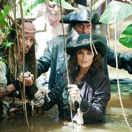 Pirates of the Caribbean - Fremde Gezeiten / Johnny Depp / Penélope Cruz / Ian McShane Poster