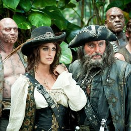 Pirates of the Caribbean - Fremde Gezeiten / Penélope Cruz / Ian McShane Poster