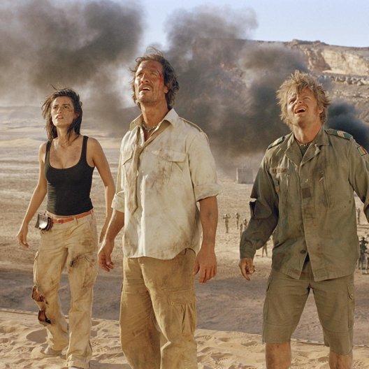 Sahara - Abenteuer in der Wüste / Penélope Cruz / Matthew McConaughey / Steve Zahn Poster