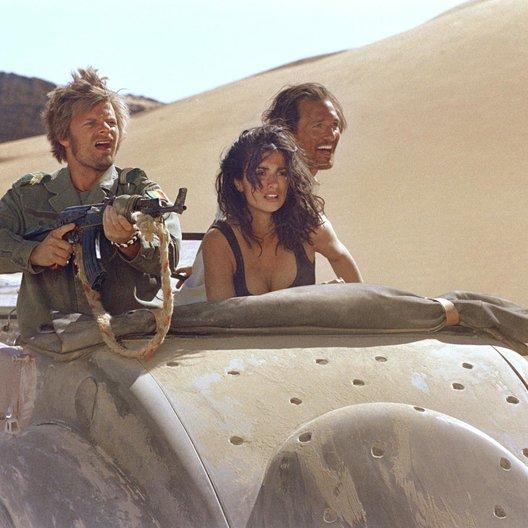 Sahara - Abenteuer in der Wüste / Steve Zahn / Penélope Cruz / Matthew McConaughey Poster