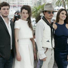 Sam Claflin / Astrid Berges-Frisbey / Johnny Depp / Penelope Cruz / 64. Filmfestspiele Cannes 2011 Poster