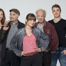 Unter Gaunern / Unter Gaunern (1. Staffel, 8 Folgen) / Julia Jäger / Cristina do Rego / Peter Franke / Moritz von Zeddelmann / Jophi Ries Poster