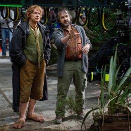 Hobbit: Eine unerwartete Reise, Der / Set / Martin Freeman / Peter Jackson Poster