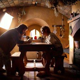 Hobbit: Eine unerwartete Reise, Der / Set / Peter Jackson / Martin Freeman Poster