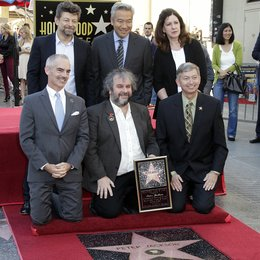 Kevin Tsujihara / Andy Serkis / Peter Jackson / Stern am Hollywood Walk of Fame für Peter Jackson Poster