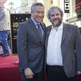 Kevin Tsujihara / Peter Jackson / Stern am Hollywood Walk of Fame für Peter Jackson Poster