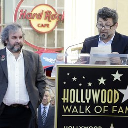 Peter Jackson / Andy Serkis / Stern am Hollywood Walk Of Fame Poster