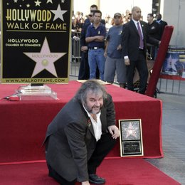 Peter Jackson / Stern am Hollywood Walk Of Fame Poster