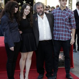Peter Jackson und Familie / Stern am Hollywood Walk of Fame für Peter Jackson Poster