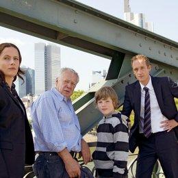 Mann auf der Brücke, Der (ARD) / Peter Lerchbaumer / Stephan Kampwirth / Henry Stange / Claudia Michelsen Poster