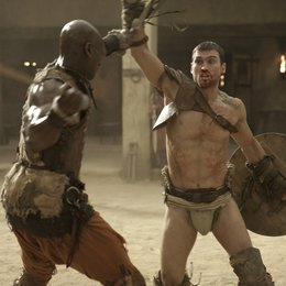 Spartacus: Blood and Sand (1. Staffel, 13 Folgen) / Andy Whitfield / Peter Mensah Poster