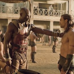 Spartacus: Gods of the Arena / Peter Mensah / Dustin Clare Poster