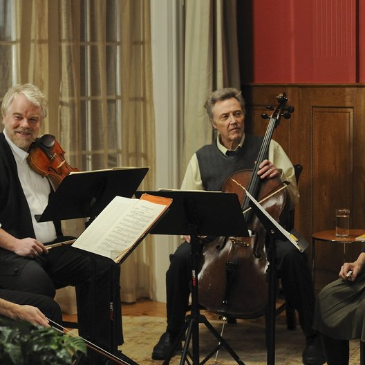 Saiten des Lebens / Late Quartet, A / Philip Seymour Hoffman / Christopher Walken / Catherine Keener Poster