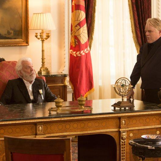 Tribute von Panem - Catching Fire, Die / Donald Sutherland / Philip Seymour Hoffman