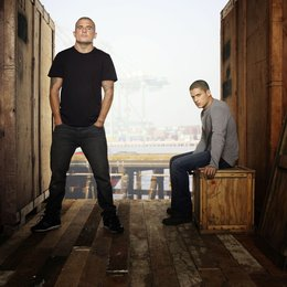Prison Break (4. Staffel, 22 Folgen) / Wentworth Miller / Dominic Purcell Poster