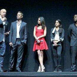 """3. CinemaCon 2013, Las Vegas / Das Team von """"Fast 6 Furious 6"""": Vin Diesel, Paul Walker, Jordana Brewster, Michelle Rodriguez und Tyrese Gibson Poster"""