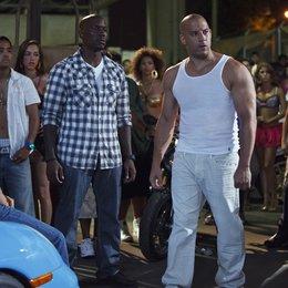 Fast & Furious Five / Fast Five / Paul Walker (sitzend li.) / Tyrese Gibson / Vin Diesel Poster