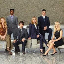 Covert Affairs / Covert Affairs (1. Staffel) / Piper Perabo / Peter Gallagher / Kari Matchett / Christopher Gorham / Sendhil Ramamurthy / Anne Dudek Poster