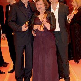 Verleihung des Deutschen Filmpreises 2009 / Peter Rommel, Ursula Werner und Andreas Dresen Poster