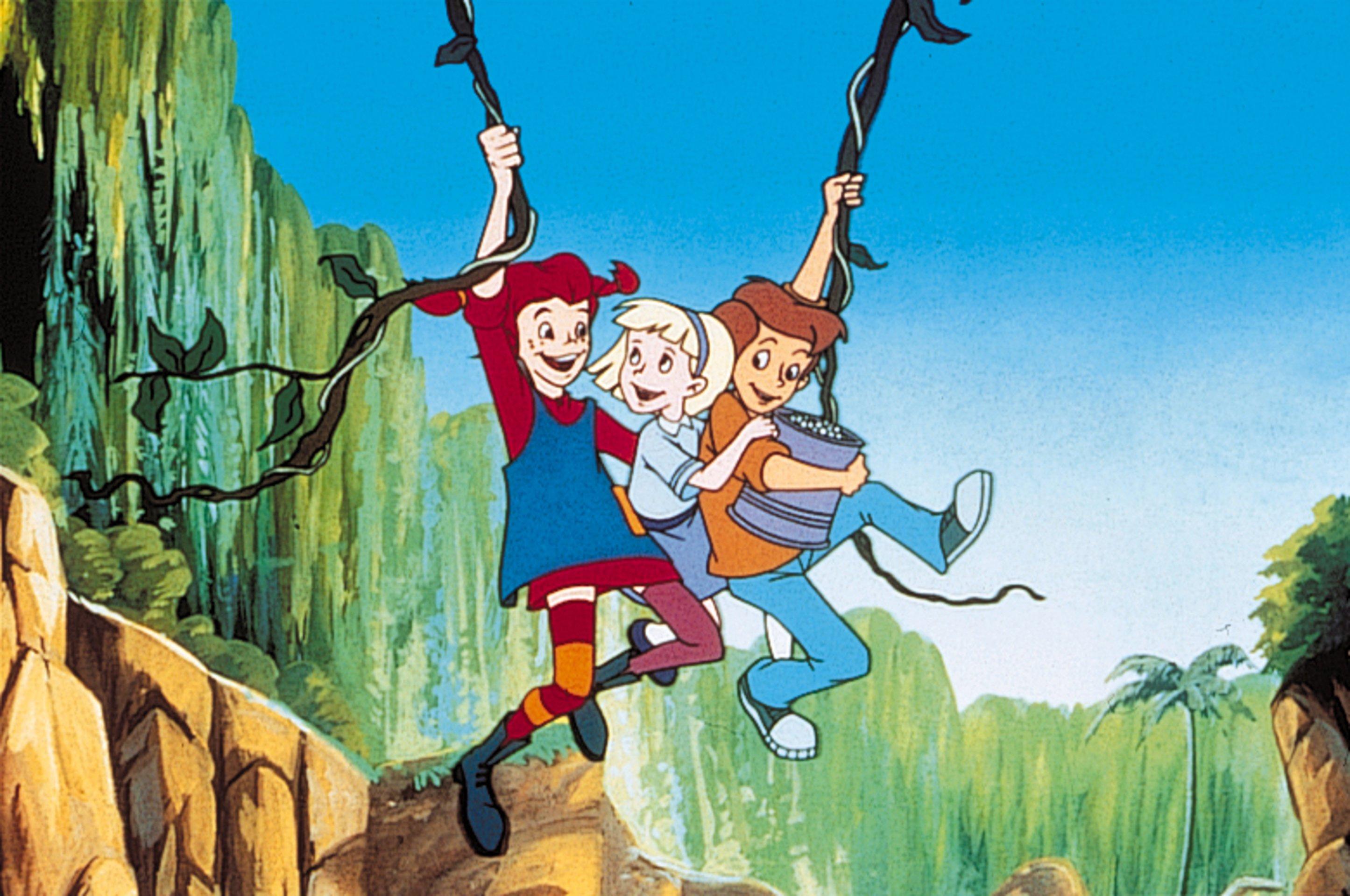 Pippi Langstrumpf Und Ihre Villa Kunterbunt Zeichentrick