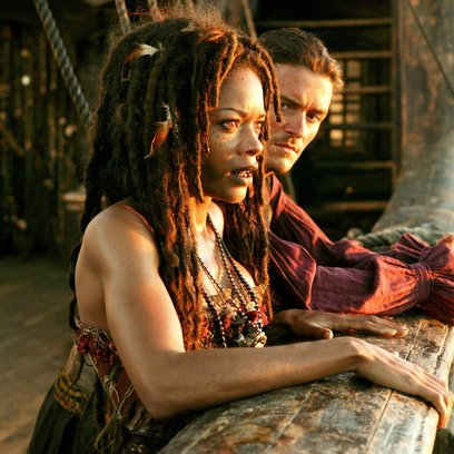 Pirates of the Caribbean - Am Ende der Welt / Naomie Harris / Orlando Bloom Poster