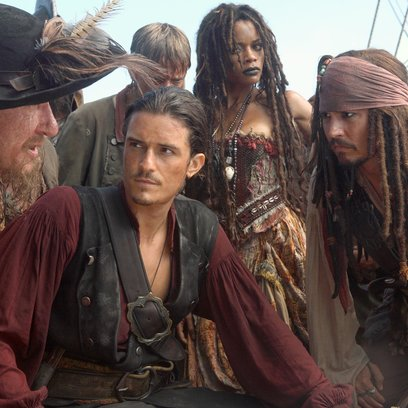 Pirates of the Caribbean - Am Ende der Welt / Orlando Bloom / Naomi Harris / Johnny Depp Poster