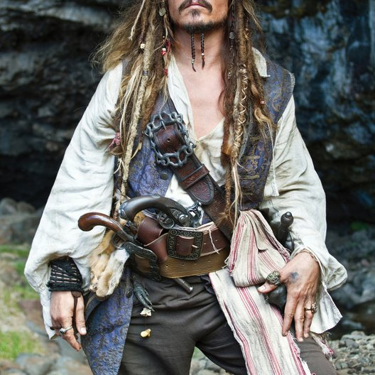 Pirates of the Caribbean - Fremde Gezeiten / Johnny Depp Poster