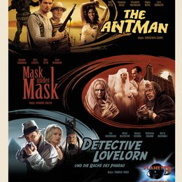 Planet B - The Antman / Planet B - Detective Lovelorn und die Rache des Pharao / Planet B - Mask Under Mask / Planet B Trilogie Poster