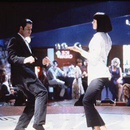 pulp-fiction-john-travolta-uma-thurman-8 Poster