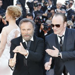 Franco Nero / Quentin Tarantino / 67. Internationale Filmfestspiele Cannes 2014