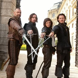 drei Musketiere, Die / Ray Stevenson / Matthew Macfadyen / Logan Lerman / Luke Evans Poster