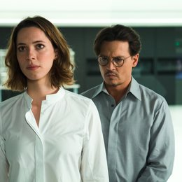 Transcendence / Rebecca Hall / Johnny Depp Poster