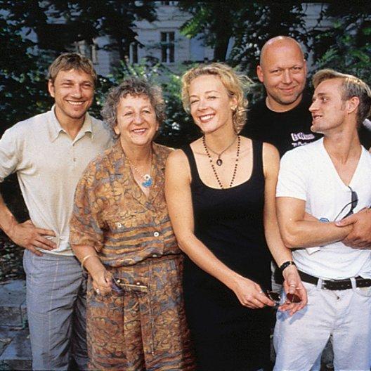 Apothekerin, Die (Promotiontour) / Richy Müller / Ingrid Noll / Katja Riemann / Rainer Kaufmann / Jürgen Vogel Poster