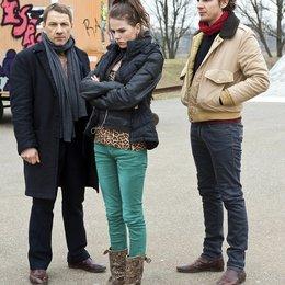 Tatort: Happy Birthday, Sarah / Richy Müller / Ruby O. Fee / Felix Klare Poster