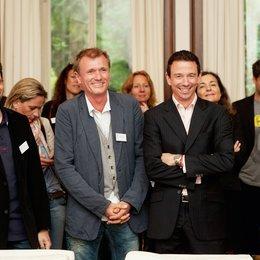 Jurysitzungen anlässlich der 40. International Emmy Awards, Köln / Rick Kavanian, Rüdiger Böss und Oliver Berben Poster