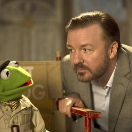 Muppets Most Wanted / Ricky Gervais Poster