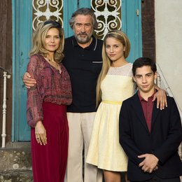 Malavita - The Family / Family, The / Michelle Pfeiffer / Robert De Niro / Dianna Agron / John D'Leo Poster