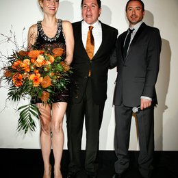 Gwyneth Paltrow, Jon Favreau, Robert Downey Jr.