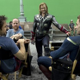 Marvel's The Avengers / Set Robert Downey Jr. / Chris Hemsworth / Chris Evans