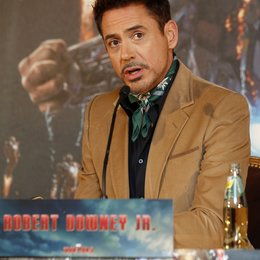 Robert Downey Jr. / Iron Man 3 / Pressekonferenz