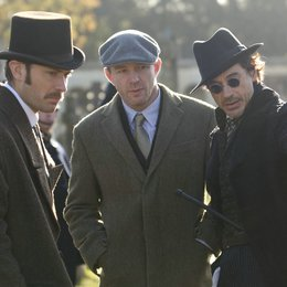 Sherlock Holmes / Jude Law / Guy Ritchie / Robert Downey Jr. / Set