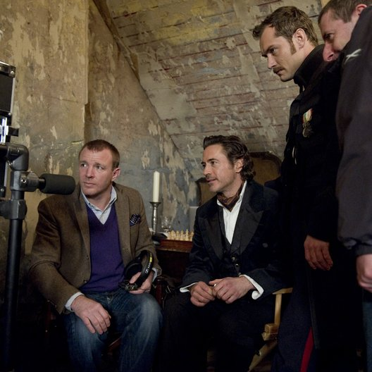 Sherlock Holmes: Spiel im Schatten / Set / Guy Ritchie / Robert Downey Jr. / Jude Law